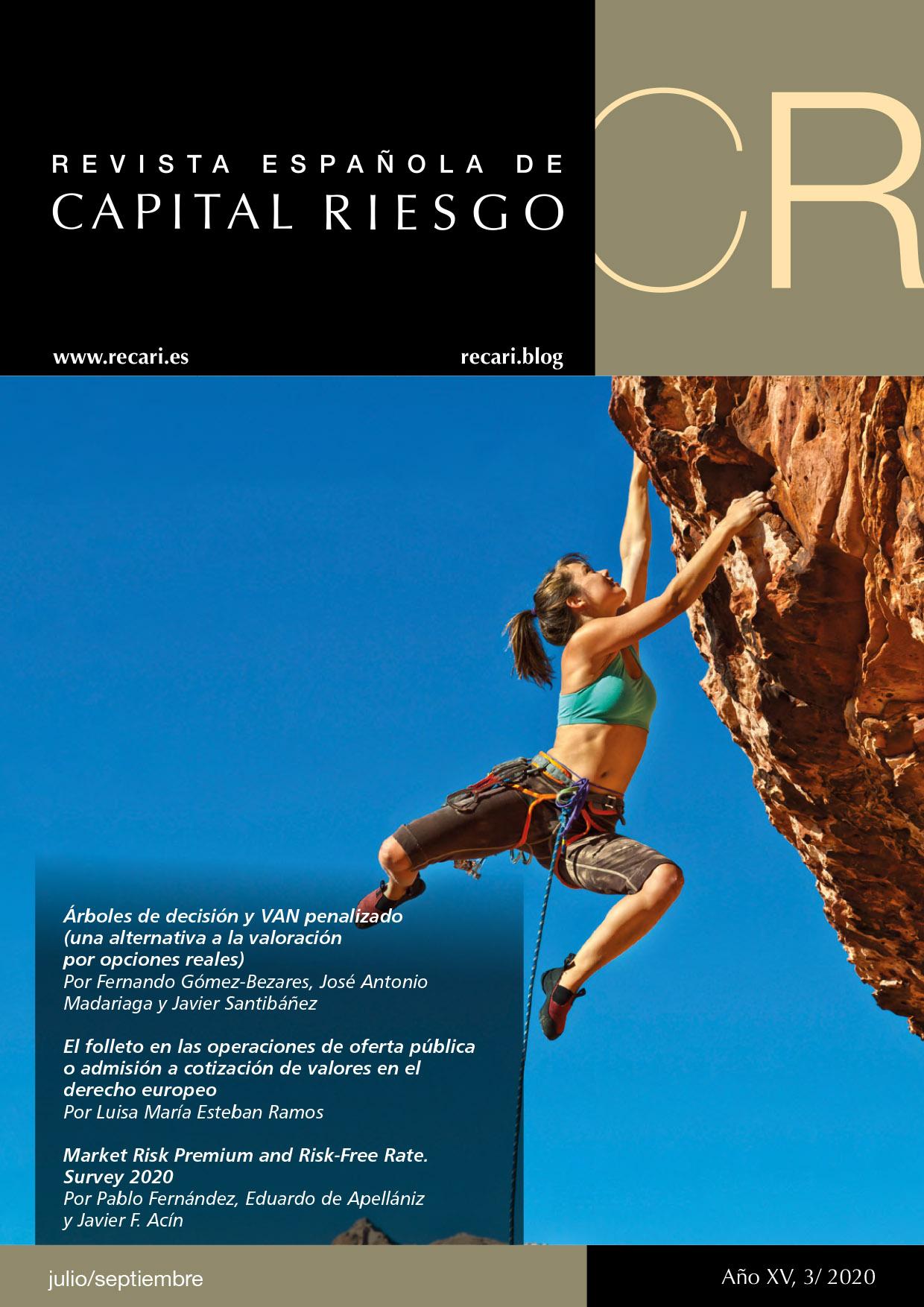 Portada Revista Española de Capital Riesgo 3T.2020