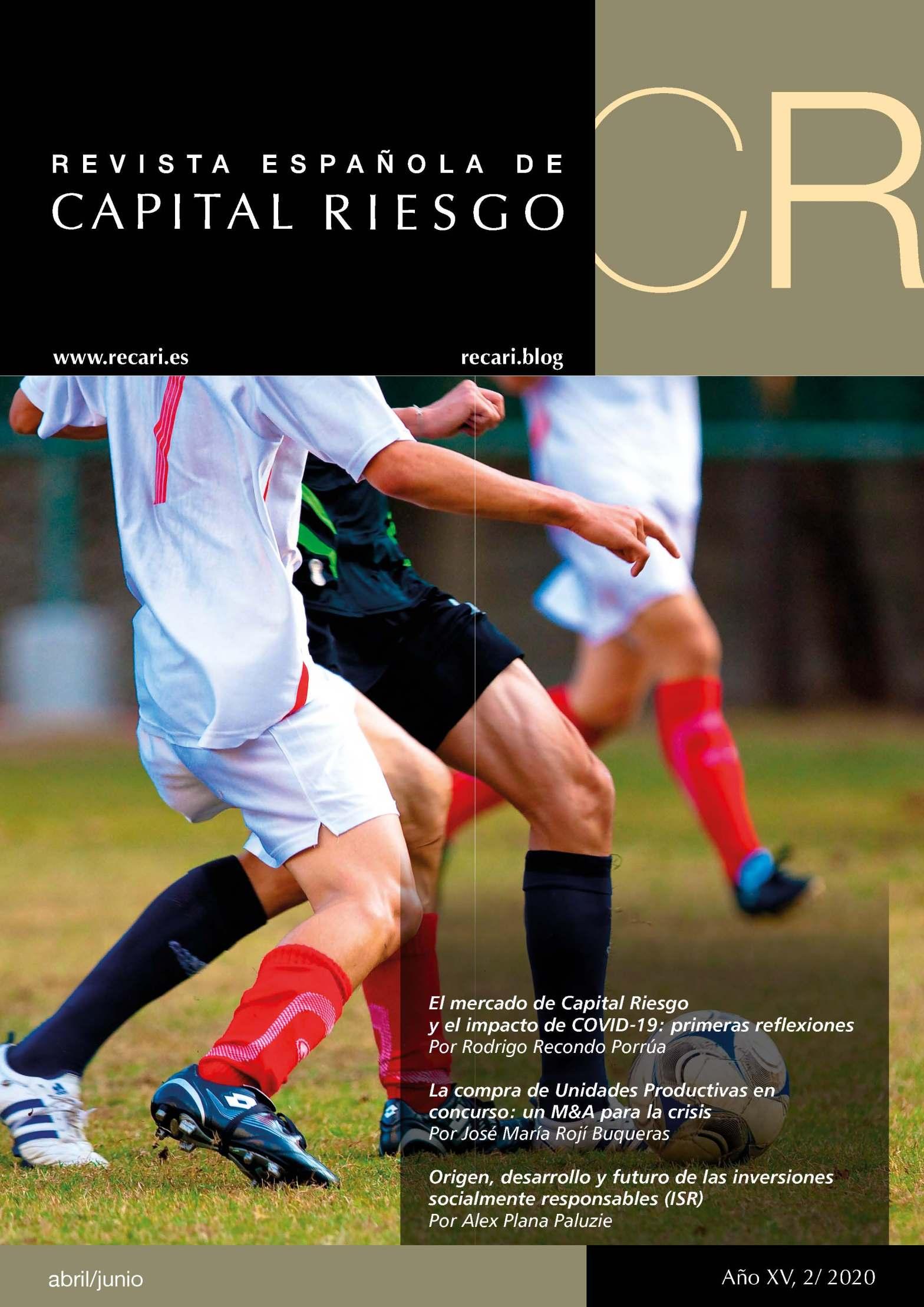Portada Revista Española de Capital Riesgo 2T.2020